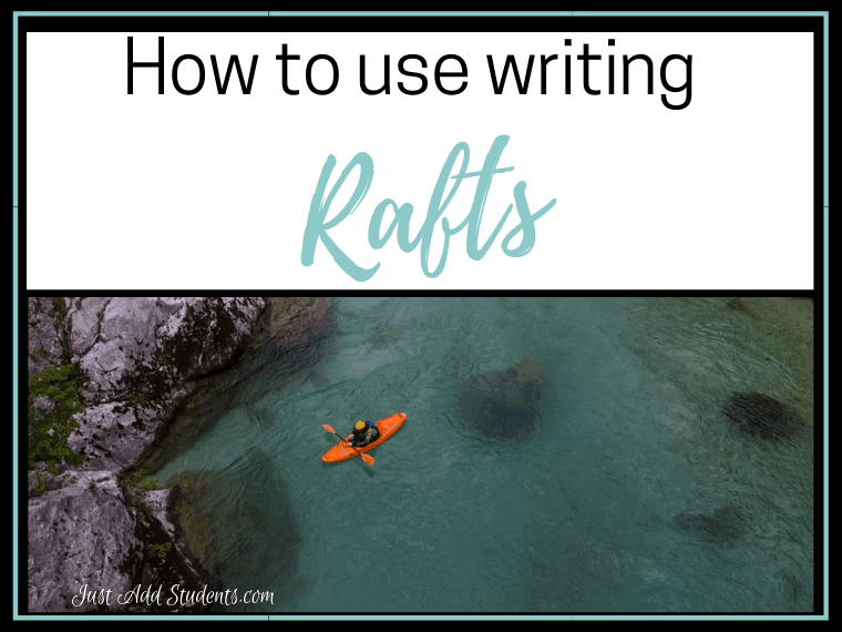 how to use rafts to teach writing