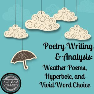 Don't wait until April to teach poetry! You can incorporate poetry into lessons all year long.