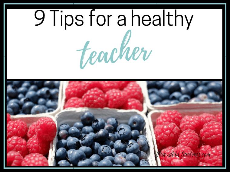 Healthy teacher habits