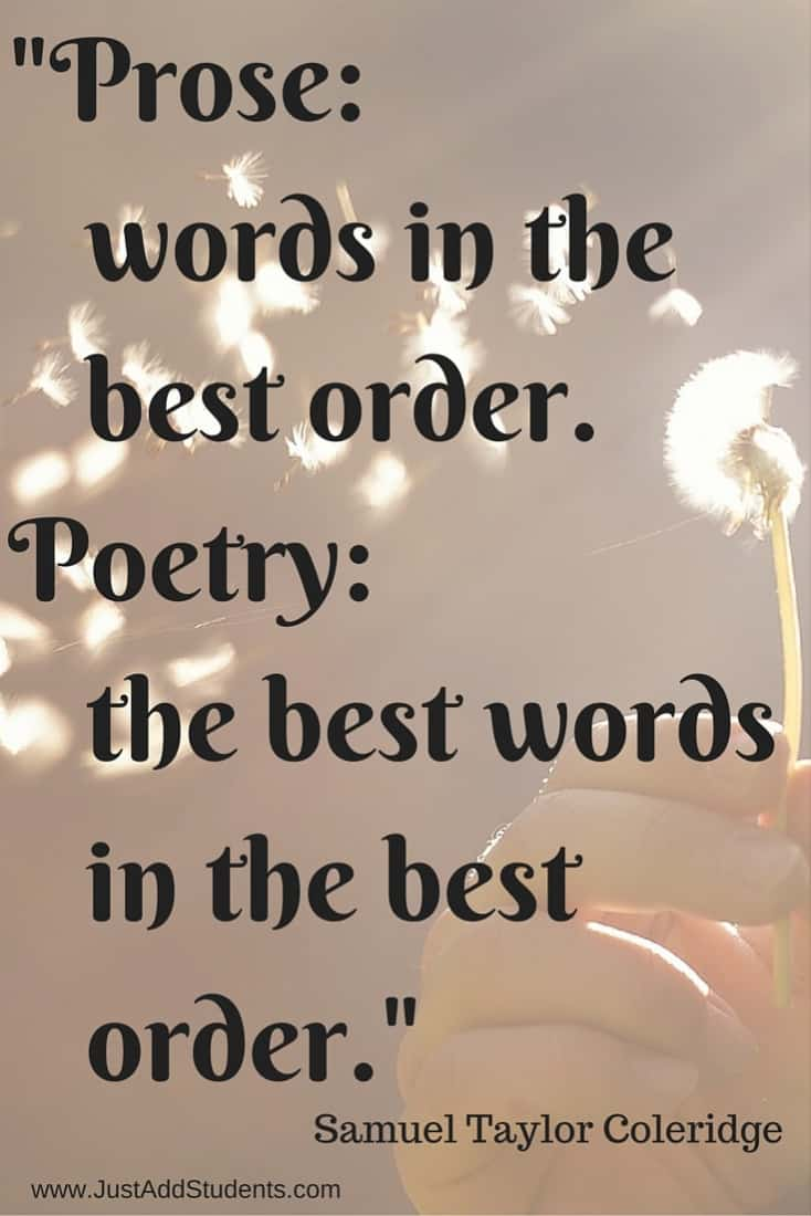 Elements of a good poem?