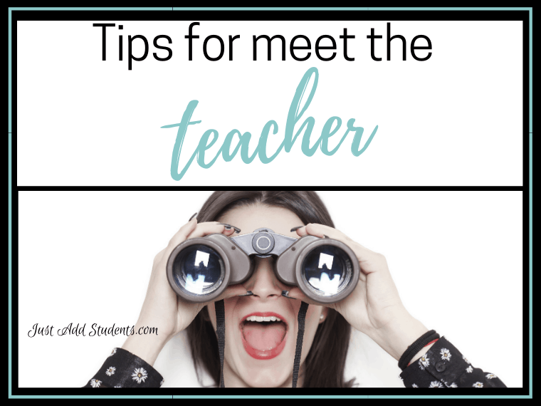 Tips for meet the teacher night