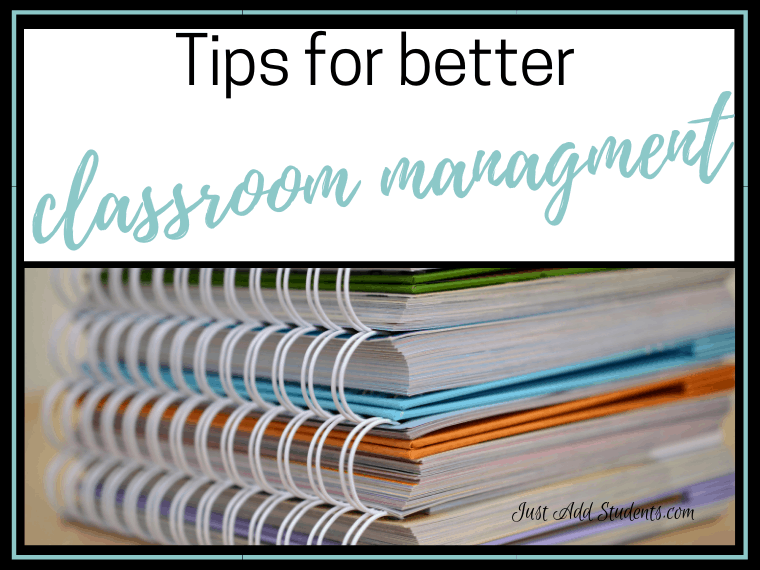Tips for better classroom management