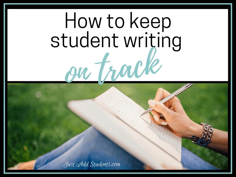 keep writing on track