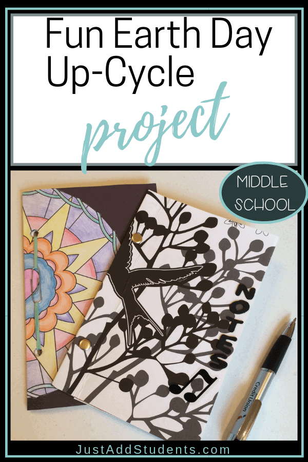 Fun up-cycle project for students.  Earth Day activity that encourages creative reuse of items students would normally throw away.
