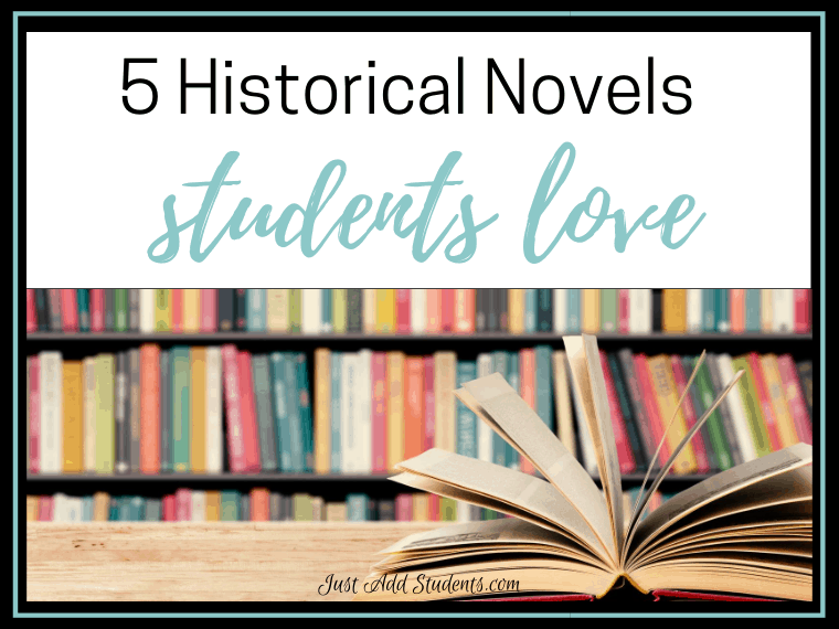 historical novels for middle school