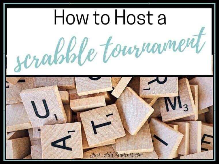 Host a scrabble tournament with your class.
