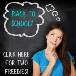 Click here for back to school freebies!