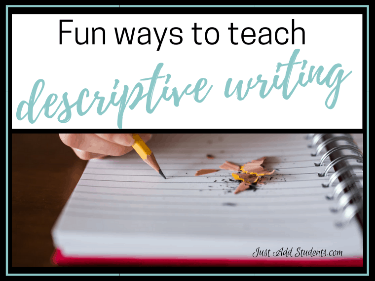 fun ways to practice descriptive writing