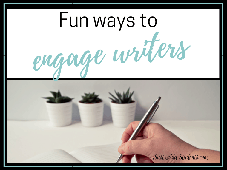 Fun writing activities for students