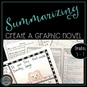 How to teach summarizing skills.