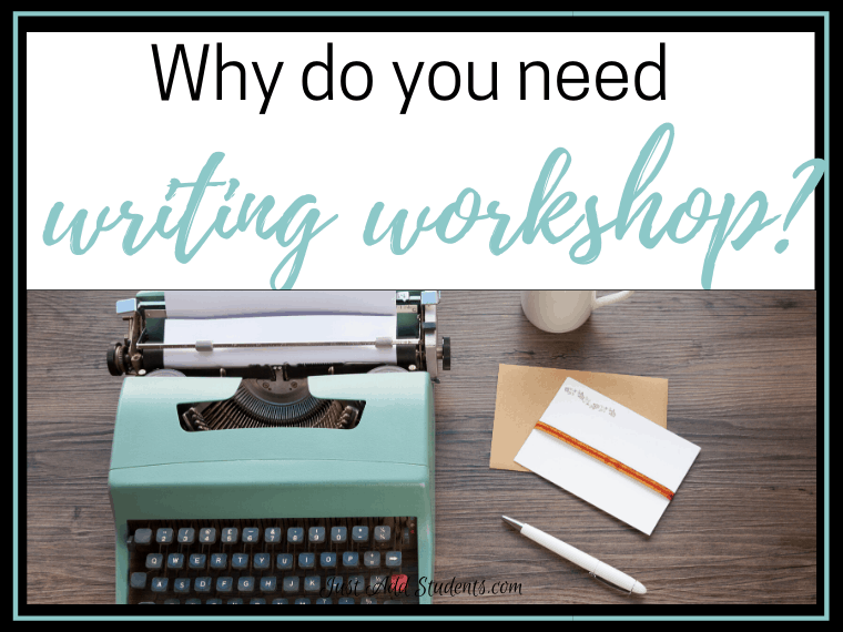 Why to use writing workshop