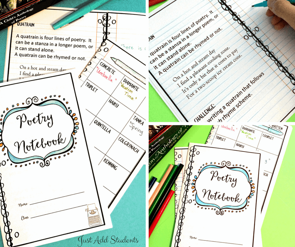 Help students learn about forms of poetry as they write one of these fun poems.
