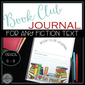 Start Literature Circles today with this book club journal. Activities work for any novel.