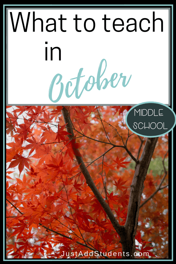Need October lesson plan ideas? Click through for a list that will keep your students reading and writing all month long! #lessonplans #reading #writing