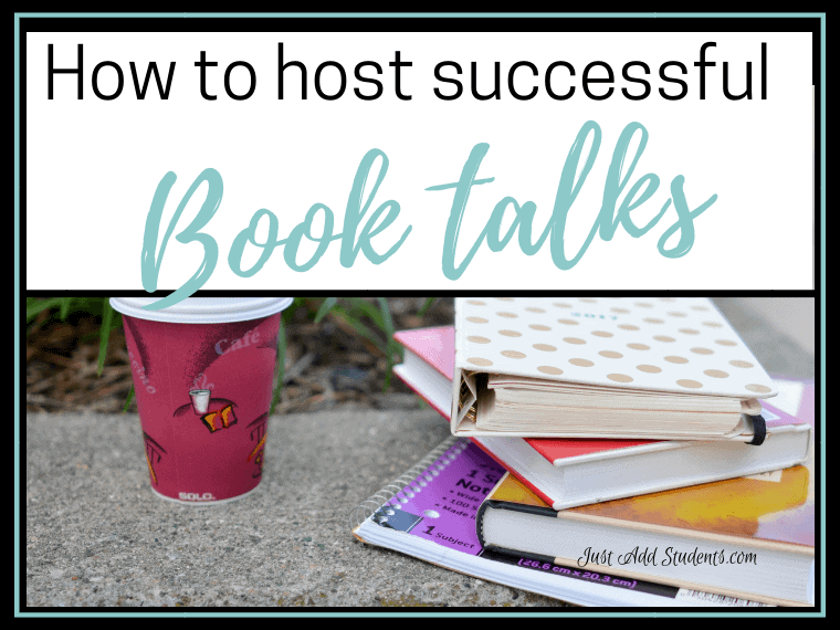 How to run successful book talks