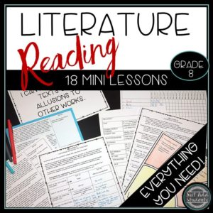 Everything you need to teach reading literature