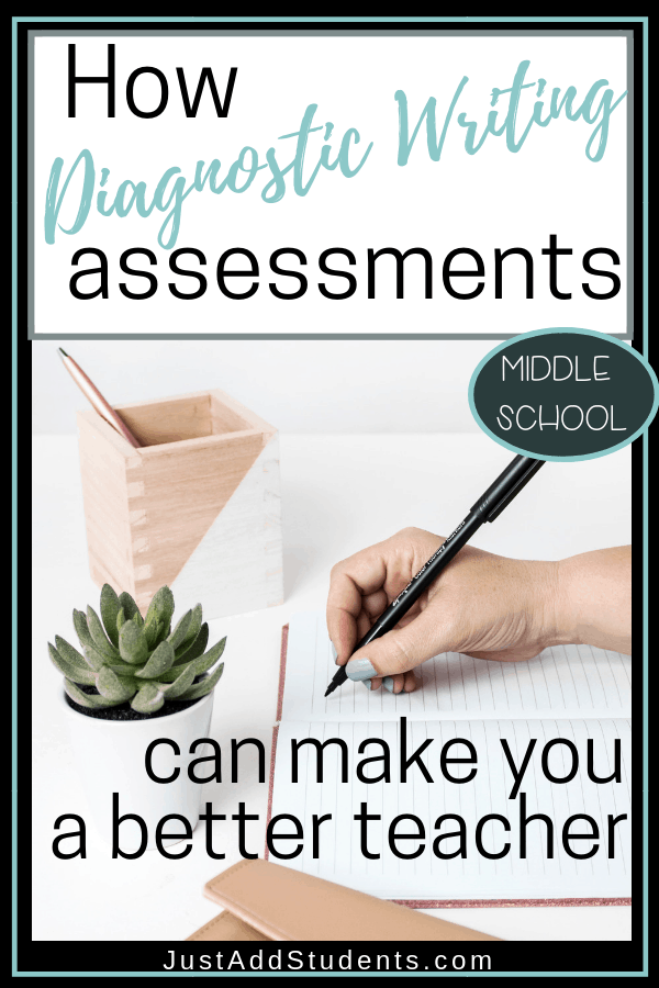 What can you learn from diagnostic writing assessments? Click though to discover how they can help you become a more effective teacher.  Download the FREE assessment tool.