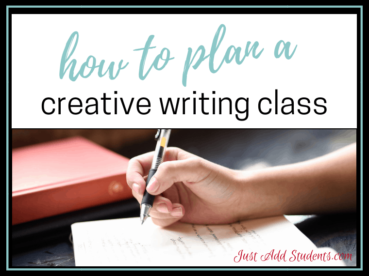 Ready to teach creative writing? Click through for tips to making it the best class ever! Download the free story starters and you're ready to go!