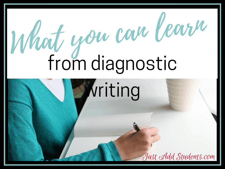 Use diagnostic writing assessments to improve your classroom instruction. Click through to discover how, and download a free writing assessment tool.