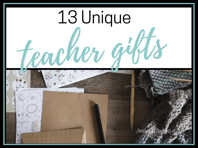 Fun and easy teacher gifts that won't break the bank!