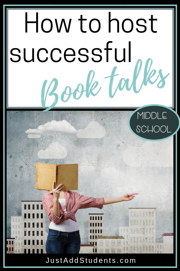 No more boring book reports!  Use book talks to engage students and create a buzz around titles.  Click through for ideas and a freebie to help you get started!