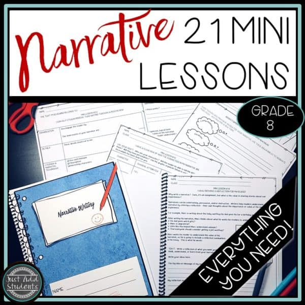 Everything you need to teach narrative writing