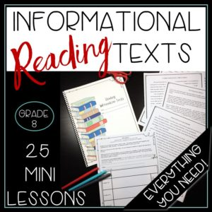 Everything you need to teach reading information texts