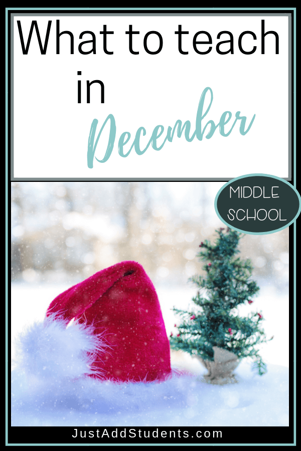 Wondering what to teach in December? Here are 10 ideas that will help inspire your students and keep them busy! Click through for a free ugly Christmas sweater lesson plan!