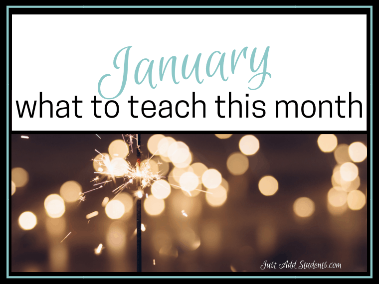 Looking for teaching ideas for January? Here are 11 that are sure to help. Grammar, writing, reading, and more. Click through for exclusive freebies for teachers!