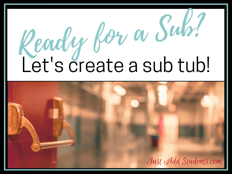 Need help preparing emergency sub plans? Here's a quick guide to preparing for a sub.