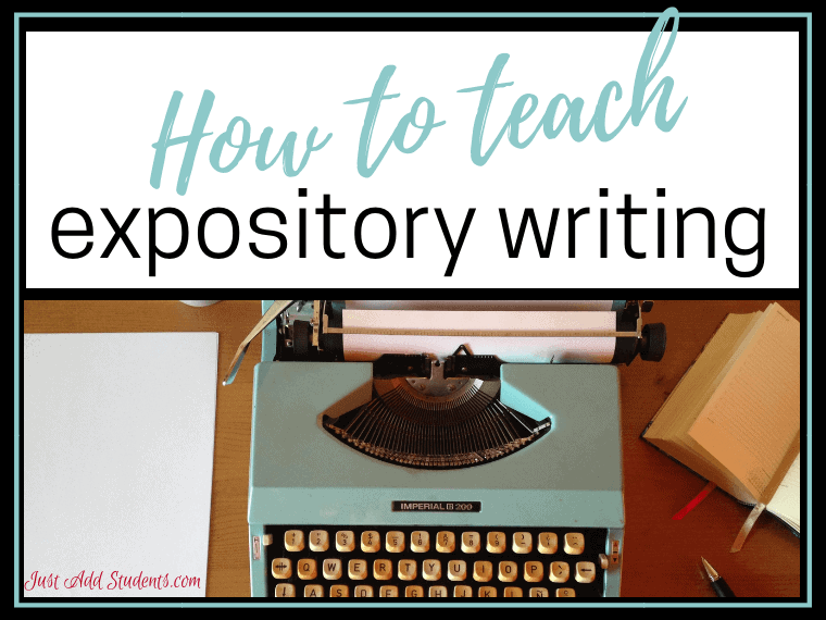Follow these easy steps to teaching expository writing.