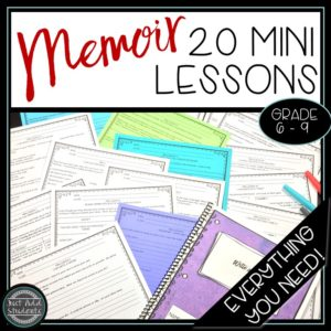 Everything you need to teach memoir writing