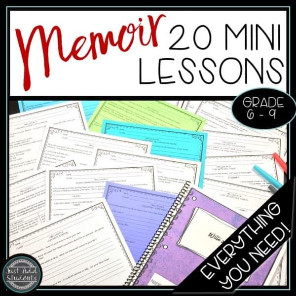 Everything you need to teach memoir writing