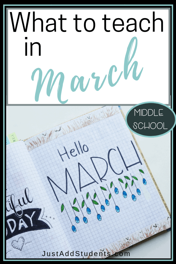 What lessons do you have planned for March?  Here are fresh lesson plan ideas and activities you can try this month.