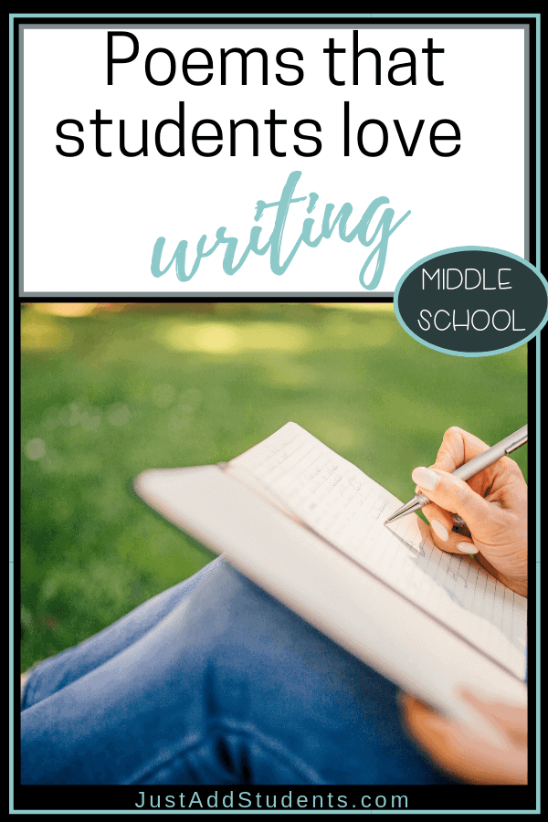 Looking for poems your students will love writing?  Here are four different forms that will teach the elements of poetry as your students write them.