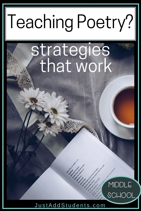 Ready to teach poetry?  Here is the ultimate guide of teaching strategies and tips!