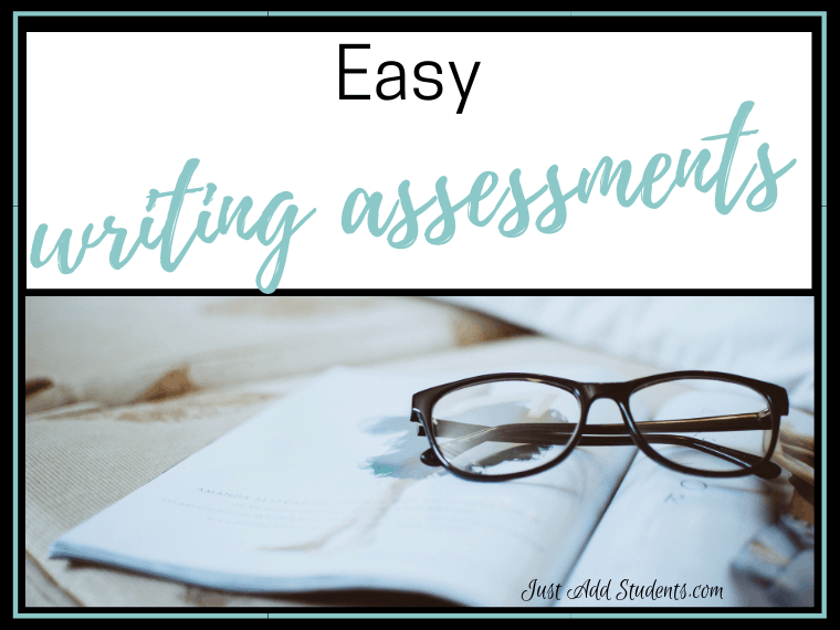 Here are quick and easy assessment ideas for your writers workshop.
