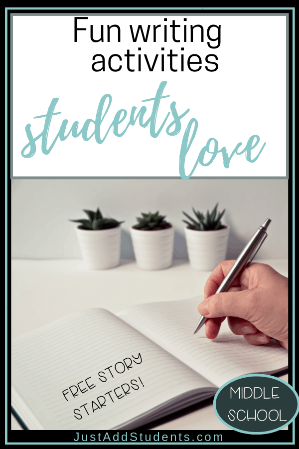Need fun writing activities for your students?  This post is here to help!