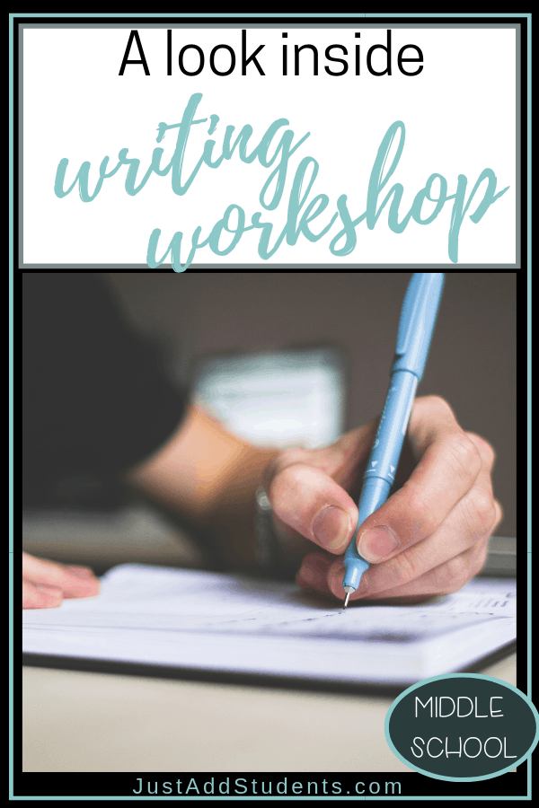 Here is a look inside writing workshop.