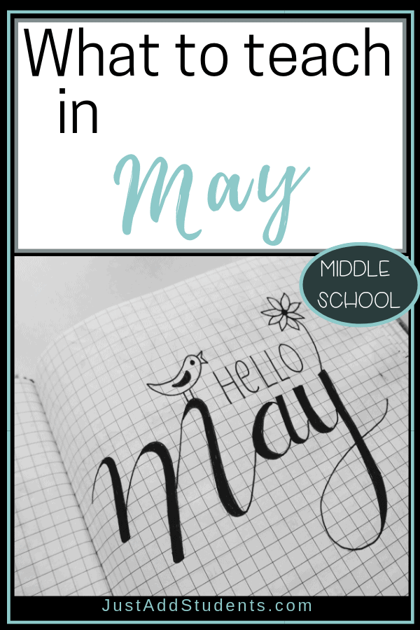What should you teach in May?  Here are ideas for lesson plans and ideas for this month.