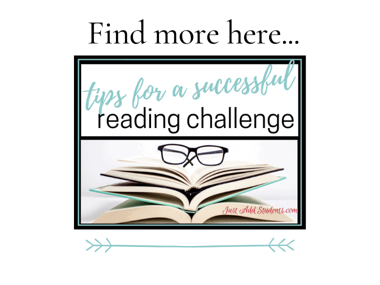 learn more about tips for a reading challenge