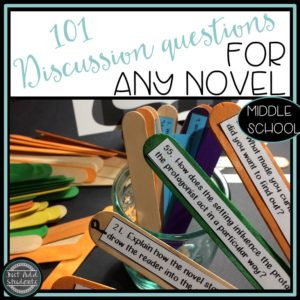 101 discussion questions for any novel