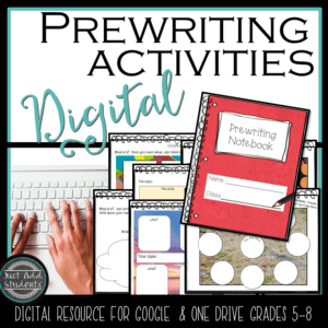 Here are prewriting activities you can use for any writing assignment.