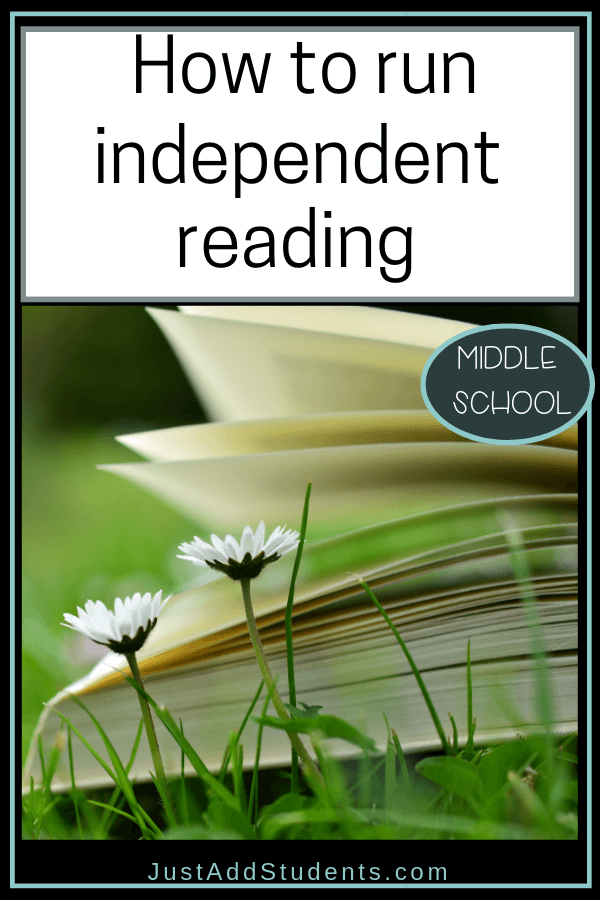 How to run a successful independent reading program in middle school