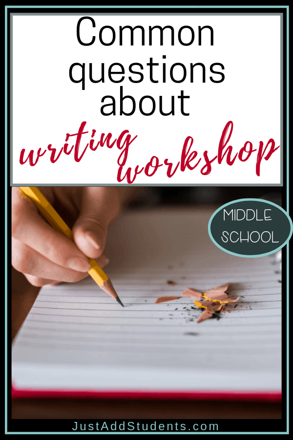 Ready to start using writing workshop?  Here are some FAQ and clear answers of what to do and what to expect.