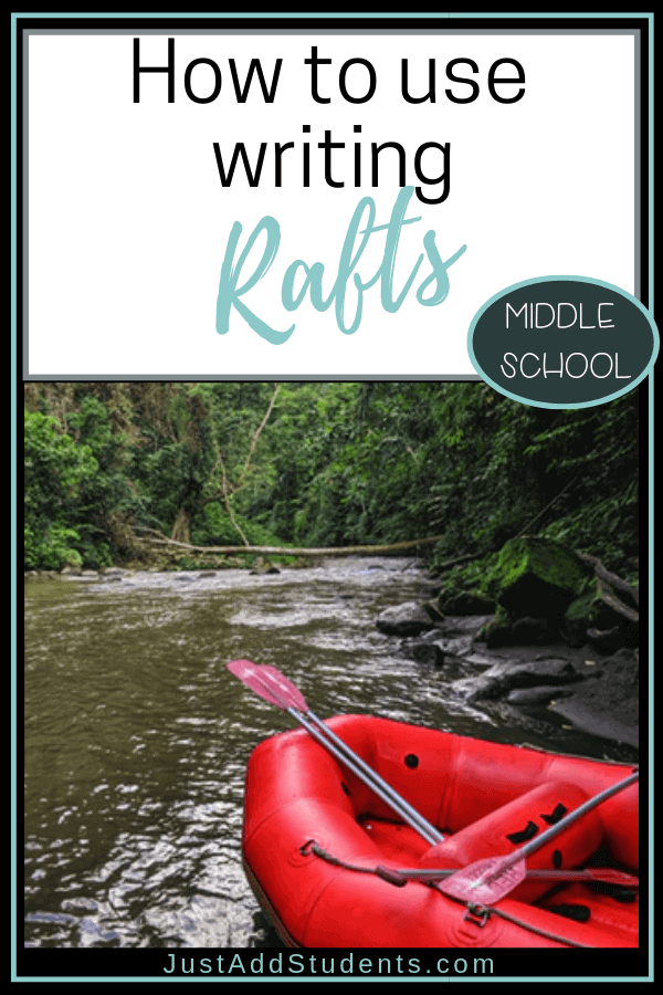 How to use writing rafts to create interesting and creative prompts for your students.