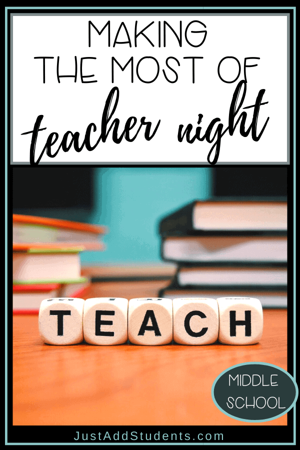 Tips for making the most of meet the teacher night.