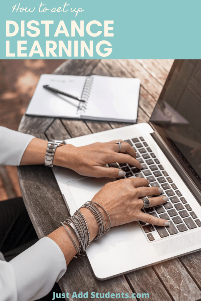 How to set up and manage distance learning