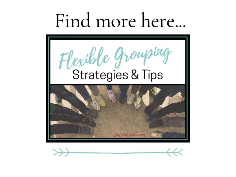Strategies for flexible grouping