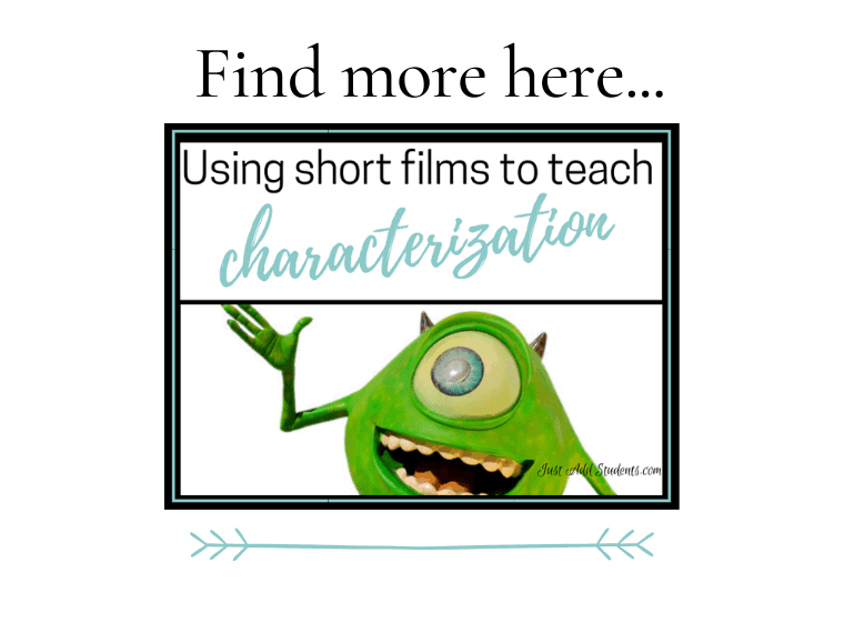 How to use short films to teach characterization